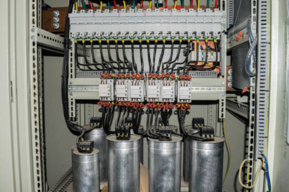 bancos de capacitor